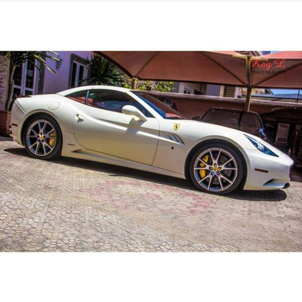 Ferrari California Price: $202,723 (₦40,341,877)