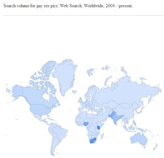 Porn searches world wide final