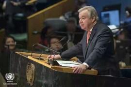 UN Sec Gen, Antonio Guterres