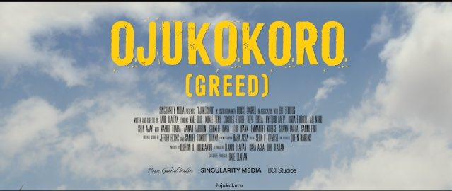 Ojukokoro poster