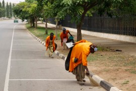Lagos sweepers