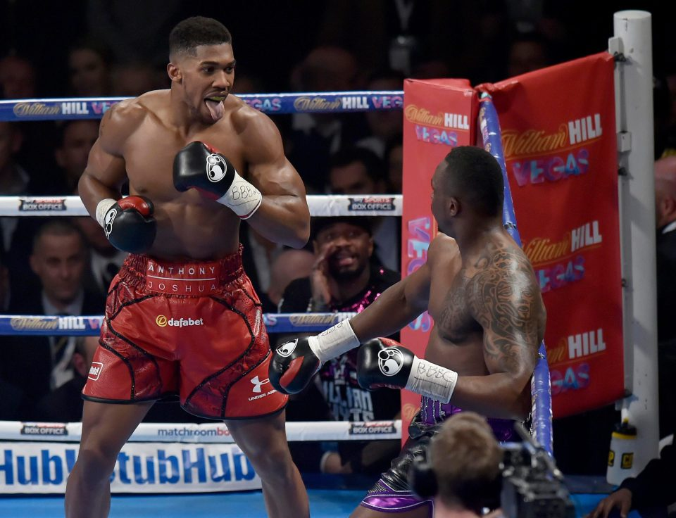 Anthony Joshua Wants Dillian Whyte Grudge Rematch