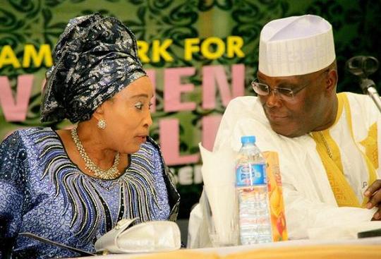 Image result for atiku and titi abubakar