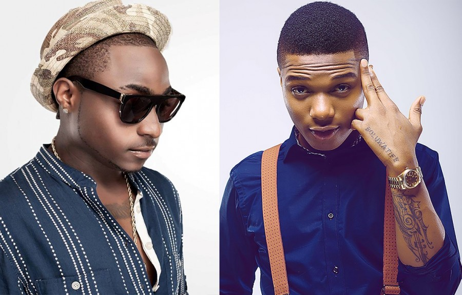 Video: Wizkid and Davido's team clash violently in Dubai