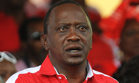 Kenyan President, Uhuru Kenyatta