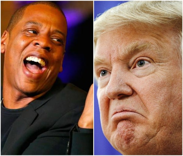 Jay Z slams Donald Trump