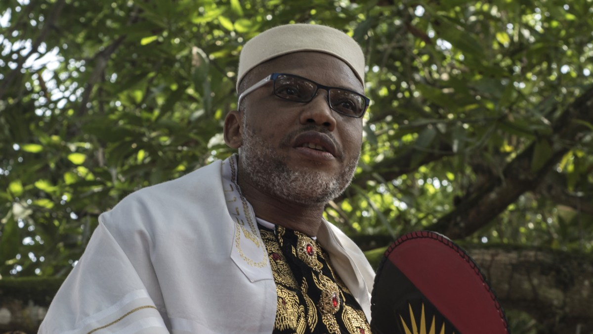 IPOB's new leader reveals Nnamadi Kanu's location