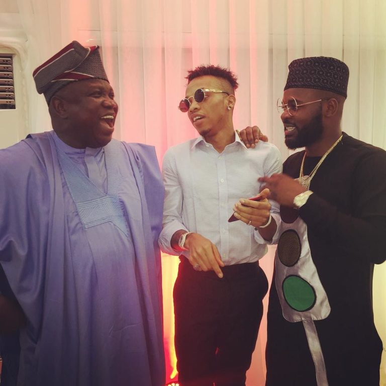 Ambode with Falz and Tekno