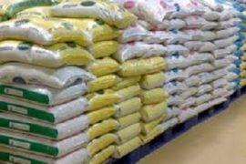 bags of LAKE rice