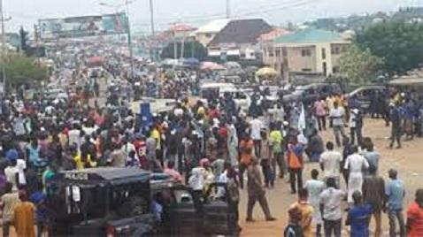 Kogi youths protest