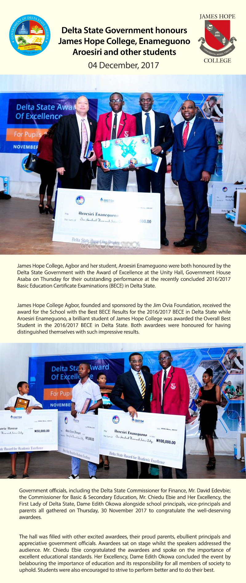 Delta-State-Honours School and Students-1