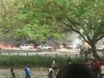 Video: Persons, Cars Burnt As Tanker Explodes In Festac
