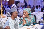 Photo: Rare Moment of Tenderness Between Nasir El-Rufai and wife Aisha