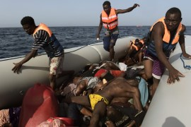 migrants die whilst crossing into spain