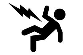 Man Getting Electrocuted