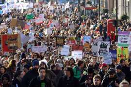 anti trump rally day after inauguration