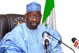 PDP residential aspirant and Gombe State Governor, Ibrahim Dankwambo