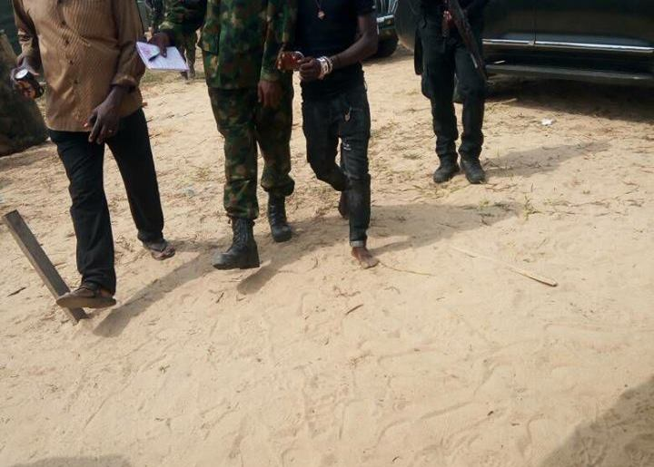Peregbakumo Oyawerikumo taken into custody by military