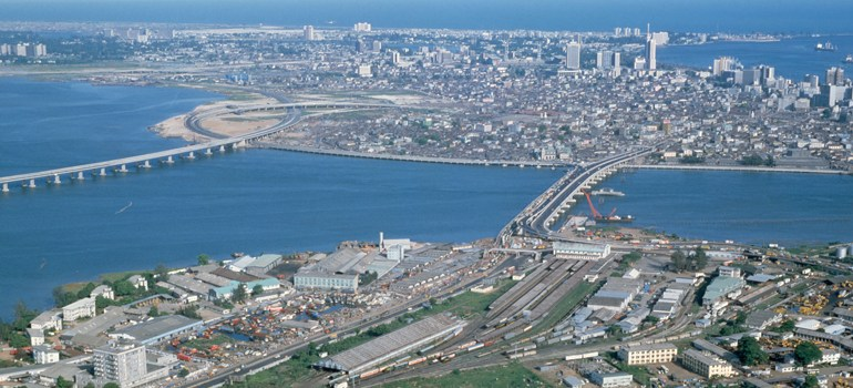 Skyview of Lagos