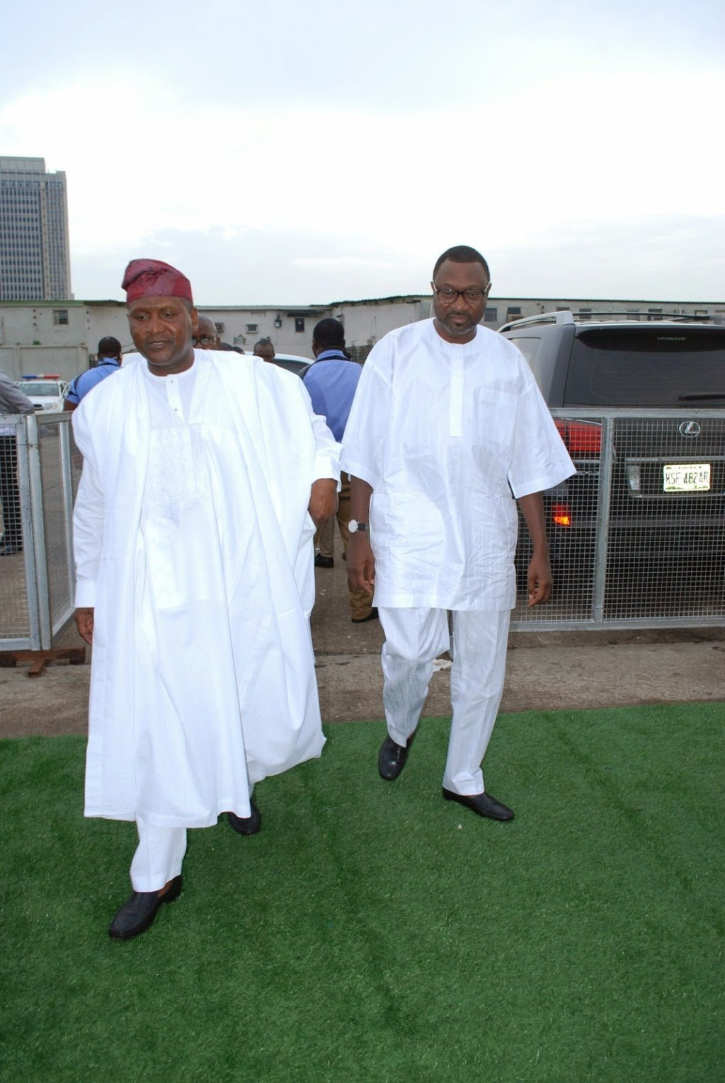 dangote and otedola