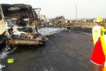 Lagos Ibadan expressway bus crash