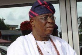 Former Ogun Governor, Otunba Olusegun Osoba