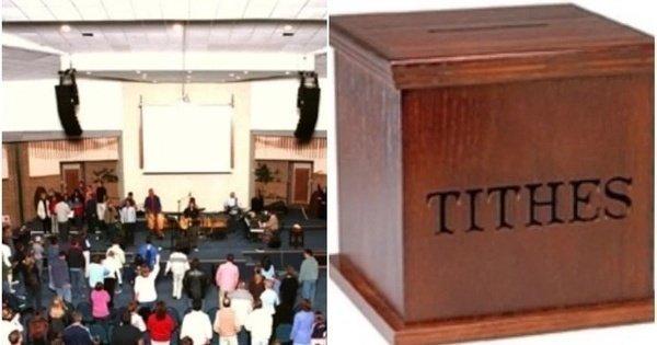 church tithe