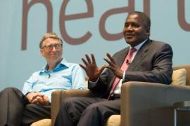 Bill Gates and Aliko Dangote