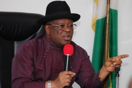 Governor Dave Umahi of Ebonyi