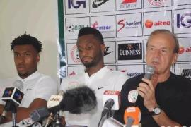 Gernot Rohr on Iwobi's performance