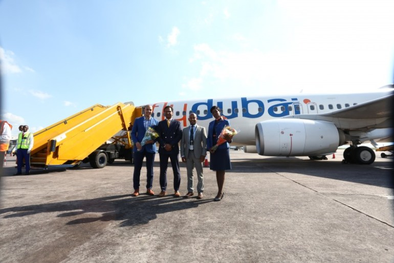 Αποτέλεσμα εικόνας για flydubai marks Africa expansion with a new direct air link to the Congolese capital