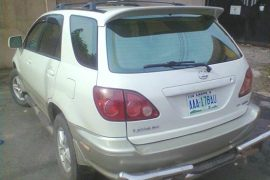 lexus jeep as prize for anyone who could name 2 fg completed projects- victor ezeanoychie