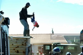 baby thrown from rooftop