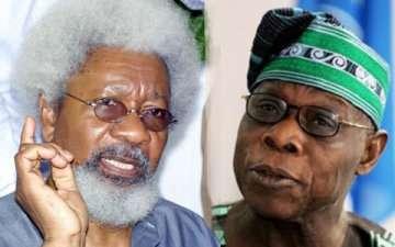 Wole Soyinka vs Olusegun Obasanjo