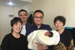 grandparents and grandchild born through ivf after parents die