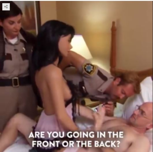 Video of guy with sex doll