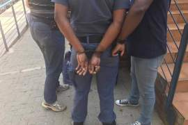 south african police arrested