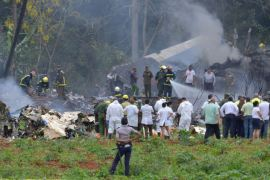 plane crash in Cuba after take off