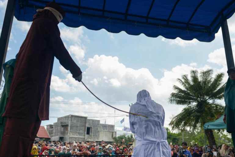 Sudanese woman flogged for marrying without her fathers consent