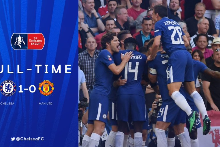 Chelsea win FA Cup