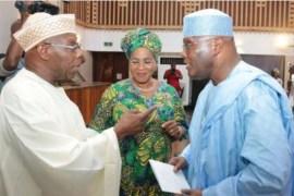 Obasanjo and Atiku