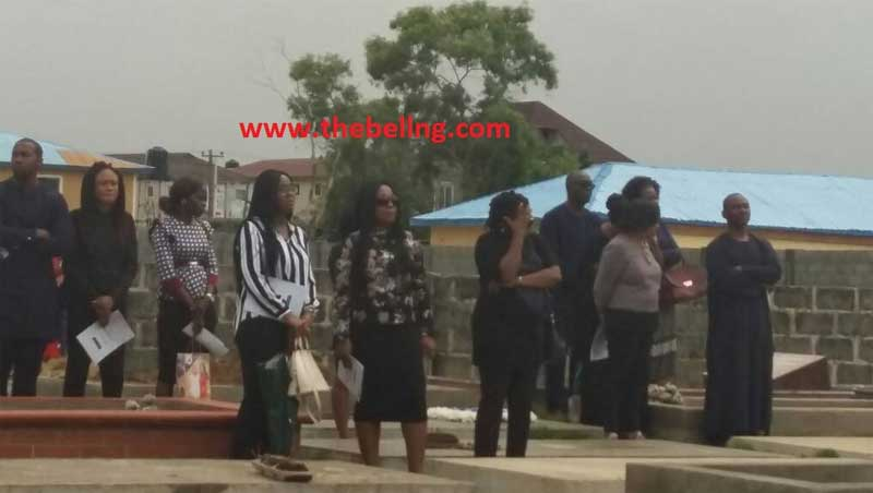 Husband killed by lawyer wife laid to rest