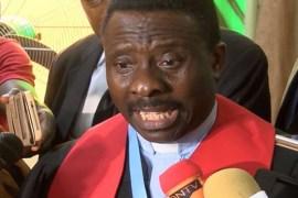 CAN President, Rev Samson Ayokunle