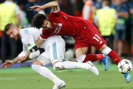 Sergio Ramos-Salah tackle