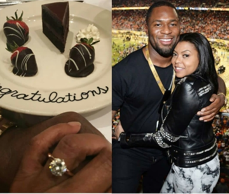 Henson Is Engaged To Former NFL Star After Mother's Day Surprise