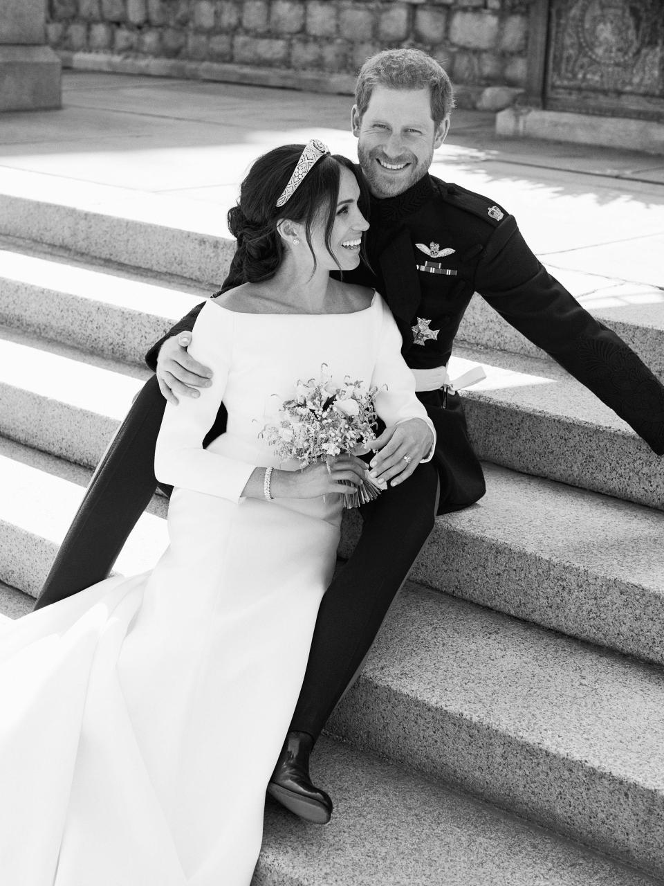 Wedding photos Prince Harry and Meghan Markle