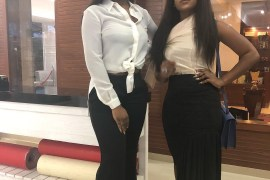 Chioma and Cee-C