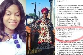 Nigerian Lady, UK exam