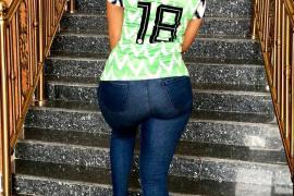Juliet Ibrahim Nigerian Jersey