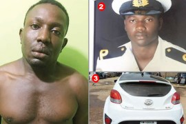 suspect houseboy who kills boss and boss's girlfriend for broken promises